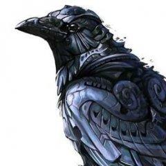 злая ворона