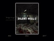 Lost Memories — Production Material Silent Hill 2 (Pic 3)