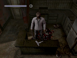Автомат (Submachine Gun) в Silent Hill 4: The Room